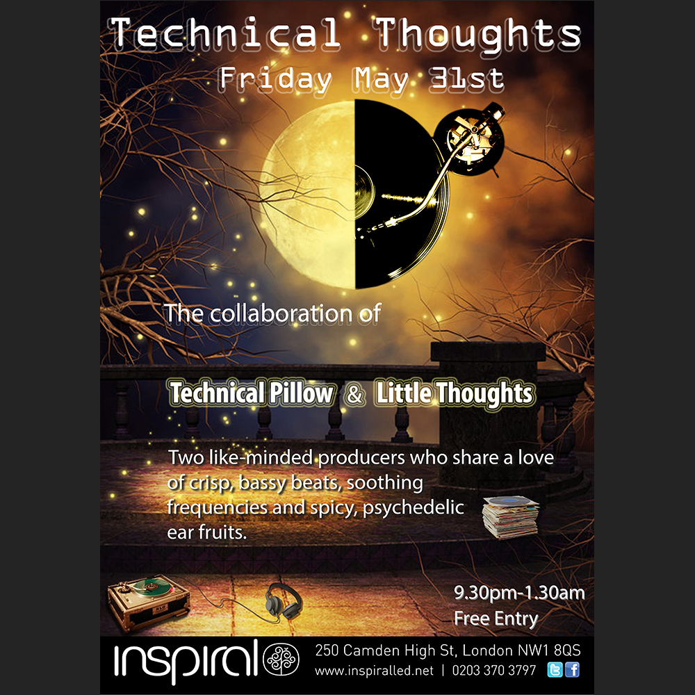 Poster design for Inspiral, UK