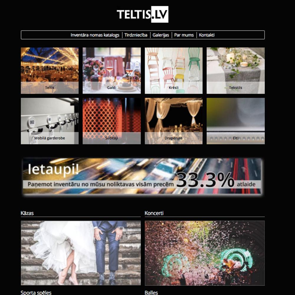 designe av webside og utvikling